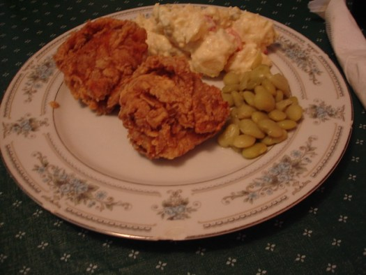 Dinner at Peggy's, Philadelphia MS