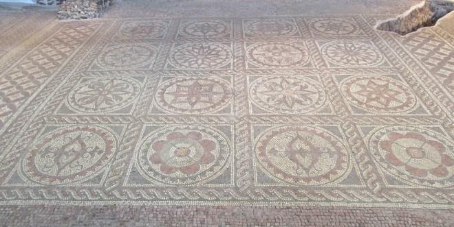 Mosaic in Verulanium park