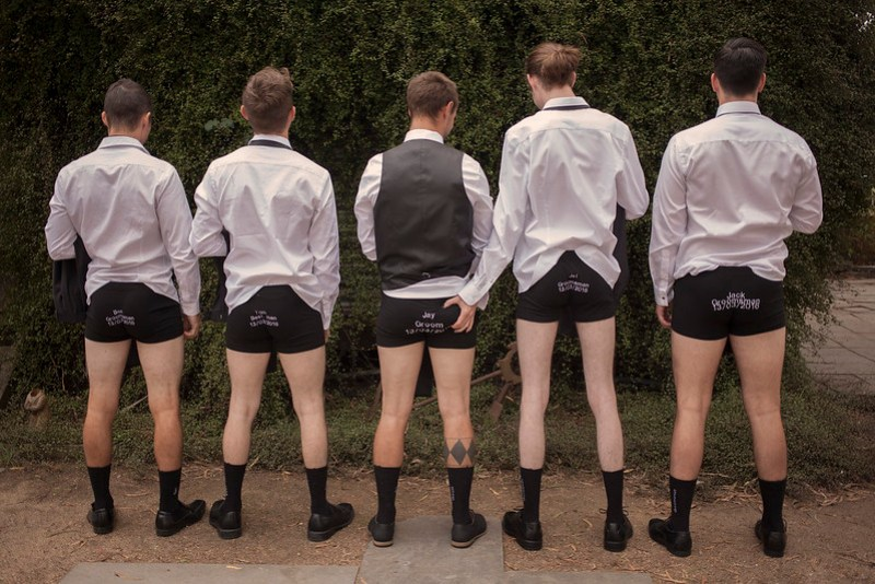 A rockabilly love-fest with boxer briefs, night swims, and pin-up style