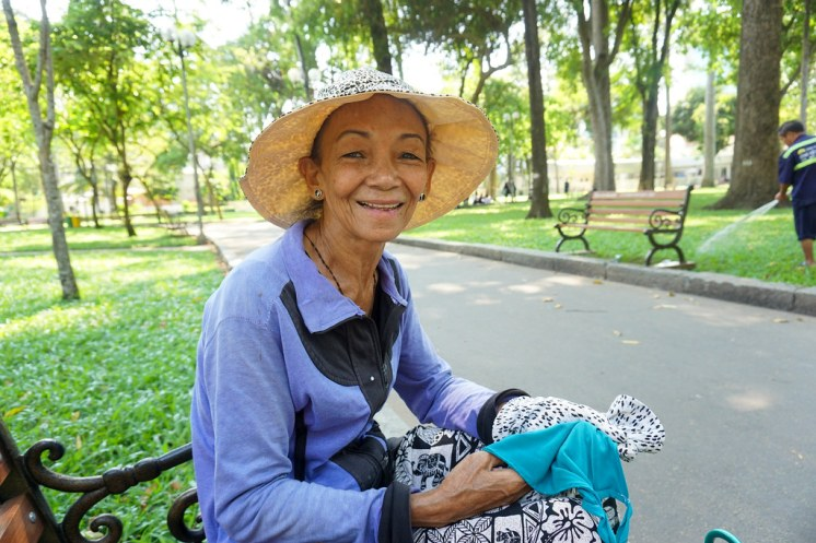This is Tan. I Met Her in a Ho Chi Minh City, Vietnam, Park. April 2016