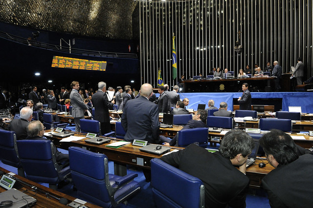 Ai de vós, políticos!, Plenário do Senado