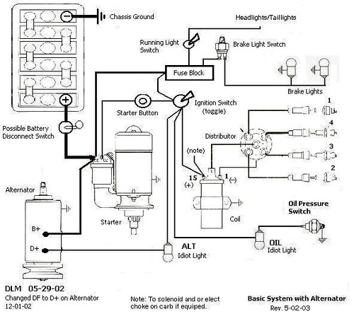 Sand Rail Ignition Wiring Is This Correct?? Shoptalkforums Com