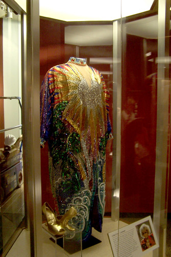 Celia Cruz costume  This colorful dress and shoes worn by