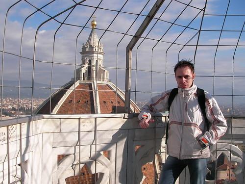 Cúpula de la Catedral de Florencia desde el Campanile, en la Piazza del Duomo. ViajerosAlBlog.com.
