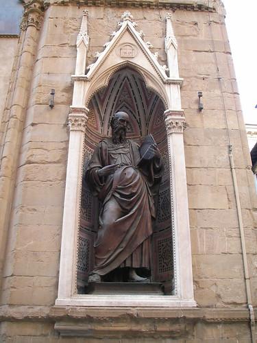 Detalle de la Iglesia de Orsanmichele. ViajerosAlBlog.com.