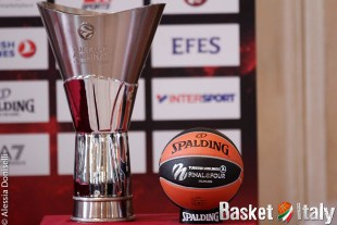 presentazione final four, eurolega, coppa