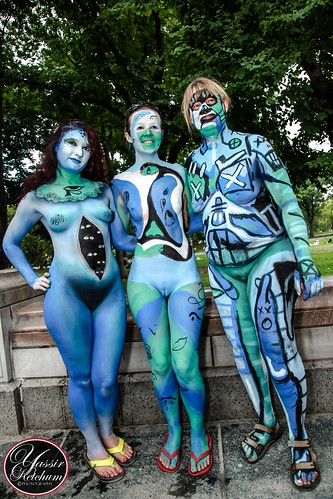 New York Body Paint Day 2014  Flickr  Photo Sharing