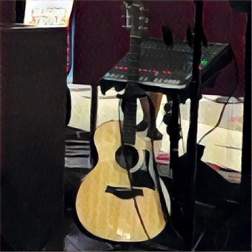 Tyler's guitar