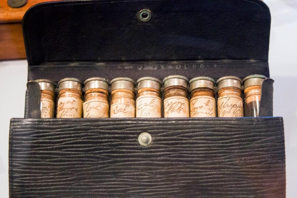 Small medicine vials