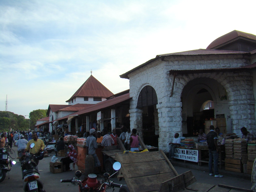 mercado Stone Town Zanzibar Tanzania 01