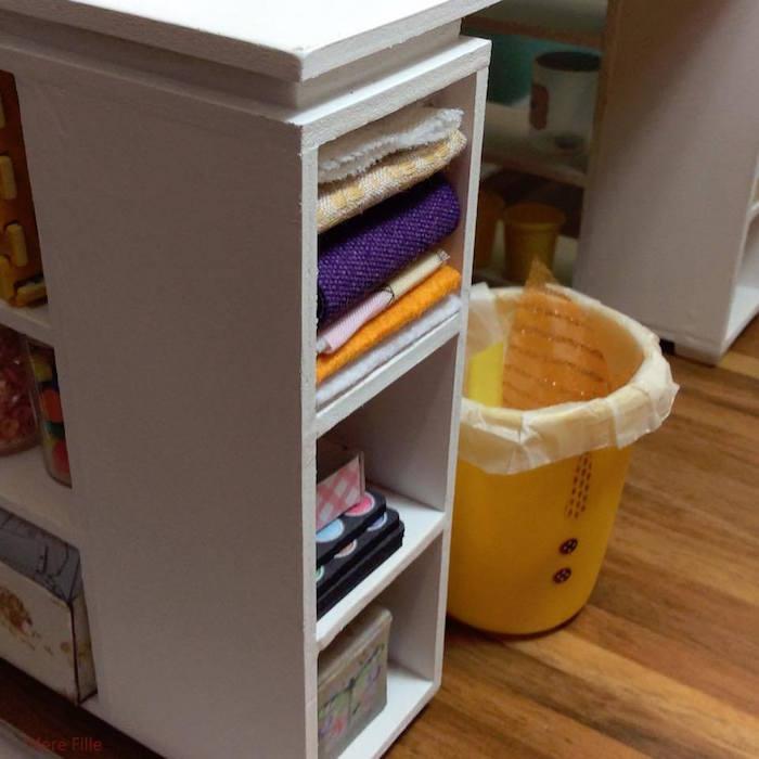 Homemade Parties DIY Party _Miniature Craft Room20