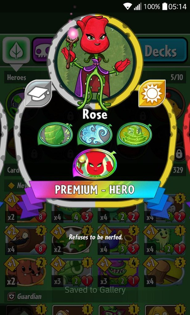 plant hero list rose