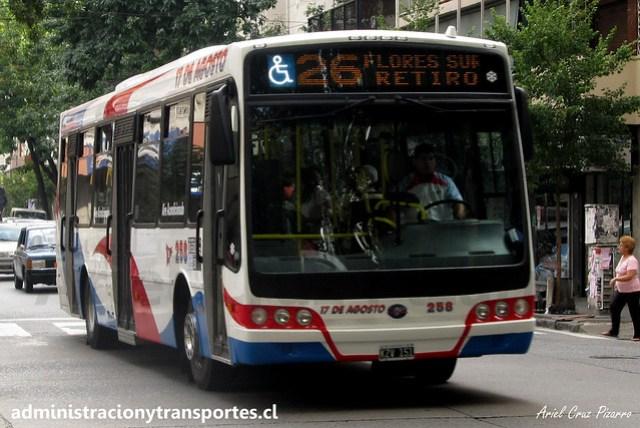 Buenos Aires 26 | 17 de Agosto | Nuovobus - Mercedes Benz / KZV151