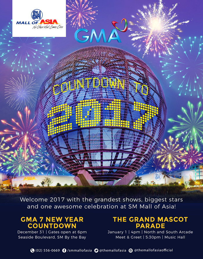 SM MOA New Year Eve's