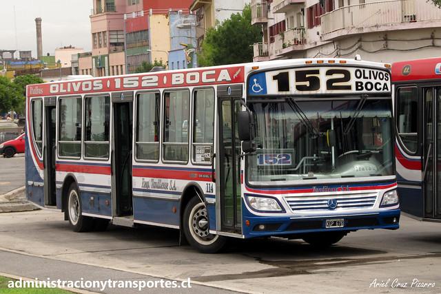 Buenos Aires 152 | Tandilense | Italbus Tropea - Mercedes Benz / KGP675