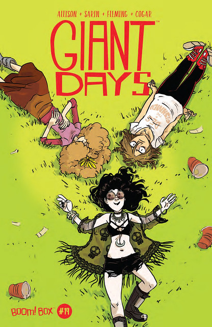 29425874173_53e32934d8_z ComicList Preview: GIANT DAYS #19