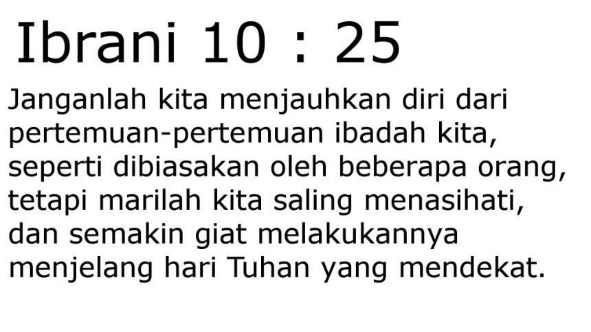 ibrani 10 25