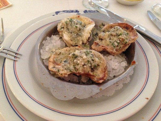 Charbroiled Oysters, Antoine's, New Orleans LA