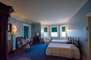 Sara Delano Roosevelt's bedroom