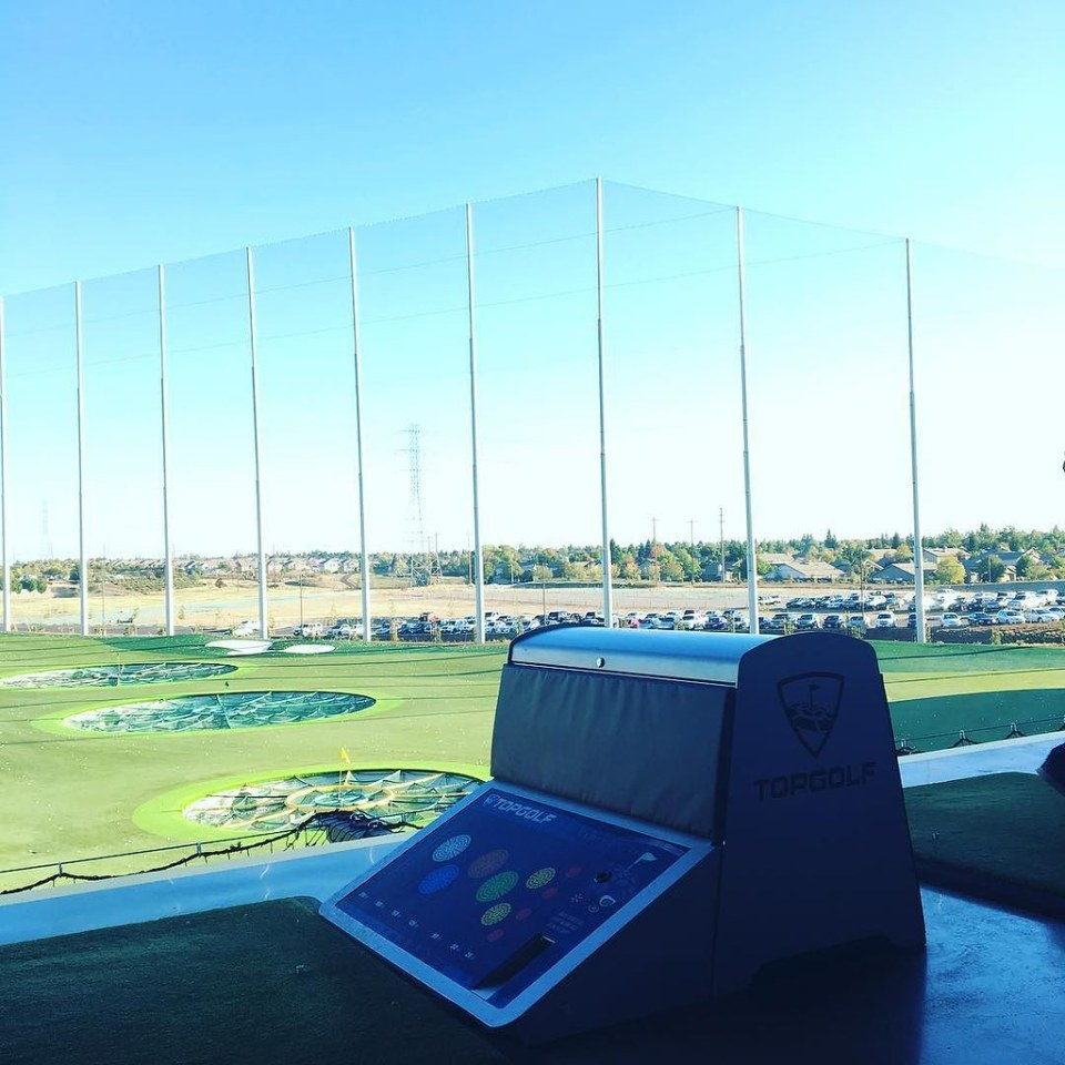 End of the Quarter event at @topgolfroseville with the @three29media teamily! #three29