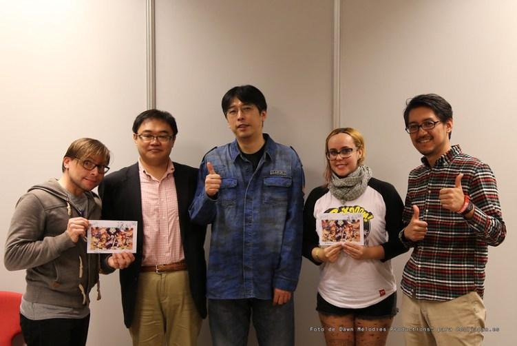 Entrevista a Hiroaki Miyamoto, Hiroyuki Sakurada y Masayuki Sato [One Piece Film: GOLD]