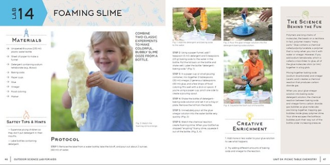 foaming slime