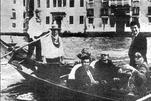 16j25 FGonzález en Venecia Septiembre 1977