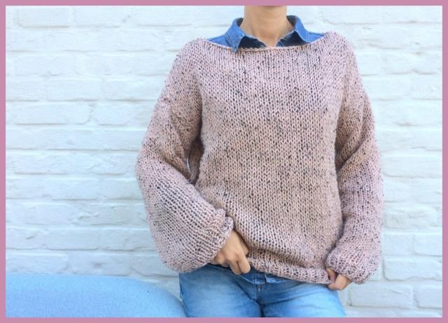 tweed knitwear