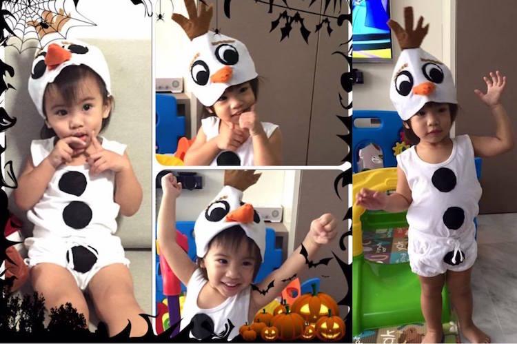 DIY Halloween Costume Mommy Lynn Olaf