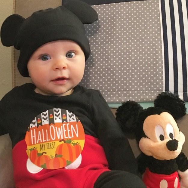 Ollie's First Halloween