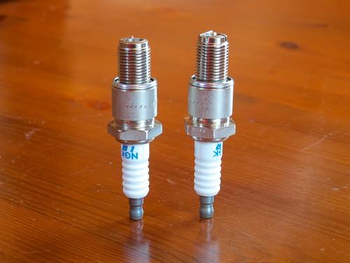 NGK RE7C-L & RE9B-T