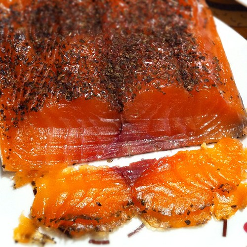 Salmon ahumado con eneldo hecho en casa  demi  Flickr