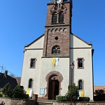 inauguration eglise de Gingsheim