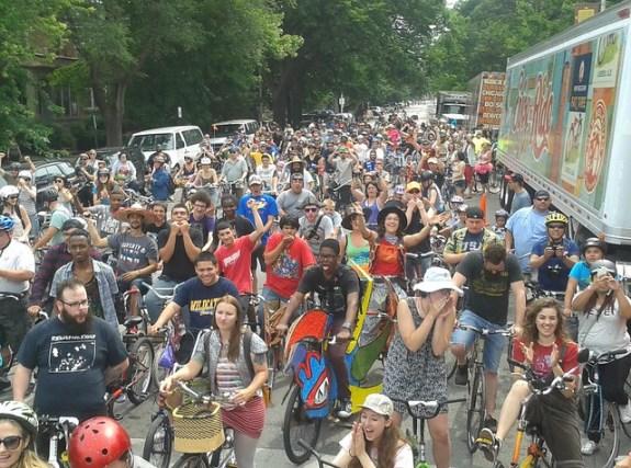 2015 TDF Parade Ride