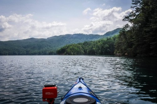 Lake Jocassee Kayaking-102