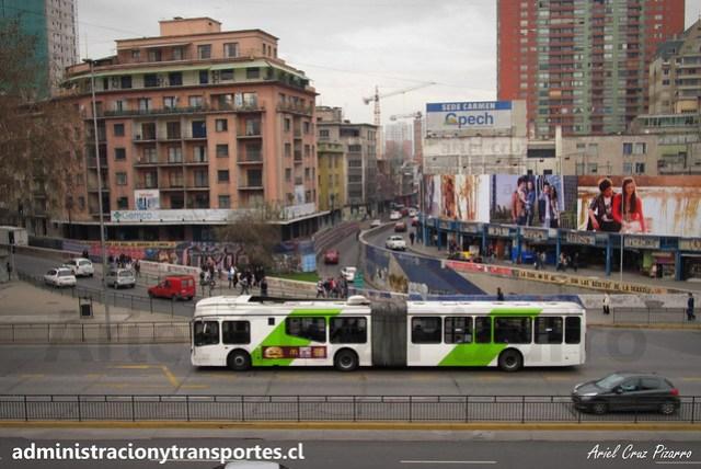 Transantiago | Express | Marcopolo Gran Viale - Volvo B9 SALF (Articulado)
