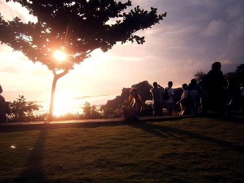 Park at Pura Batu Bolong Bali