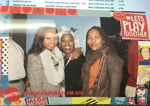Blogging Buddies, Mattel in South Africa