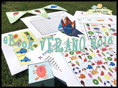 eBook de juegos para niños Verano 2016