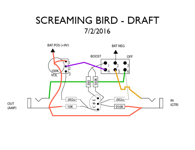 SOLVED: my EH Screaming Bird wiring problem