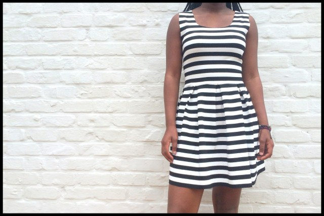 striped teenage dress 1