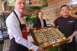Sushi aus der Kiste