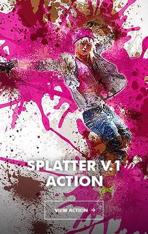 Ink Spray Photoshop Action V.1 - 24