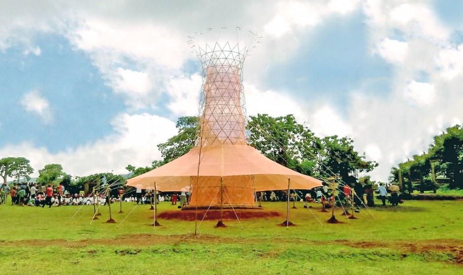 air bersih warka water tower