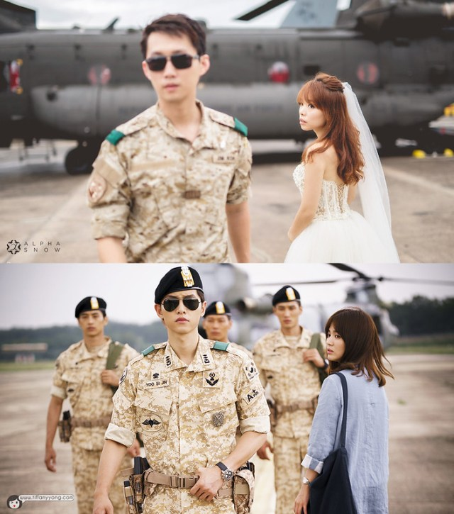 Descendants of the Sun Ep3 Airport RSAF Open House