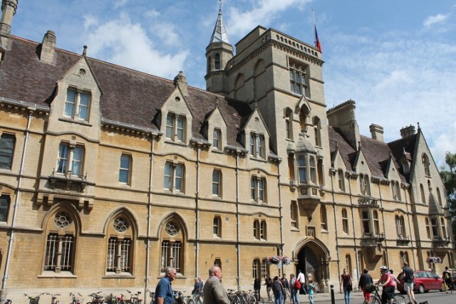Balliol College en Oxford