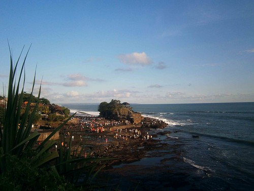 Tanah Lot from the cliff Bali