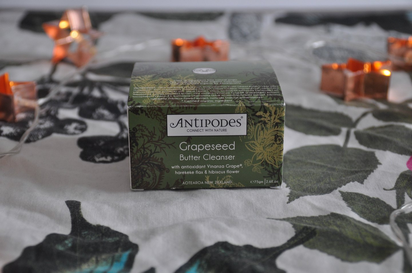 Antipodes Grapeseed butter cleanser review