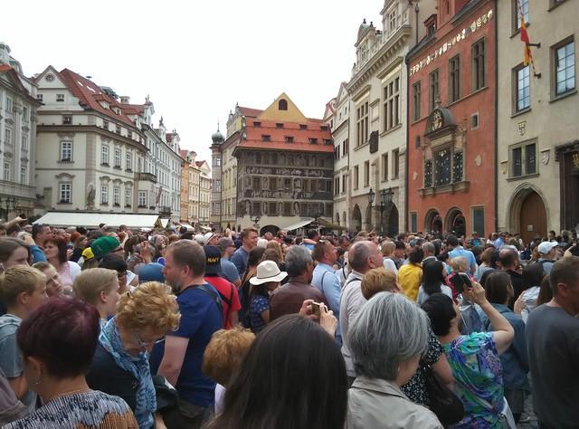【布拉格】老城區 大廣場與天文鐘 @ 想要旅行的念頭停不住...