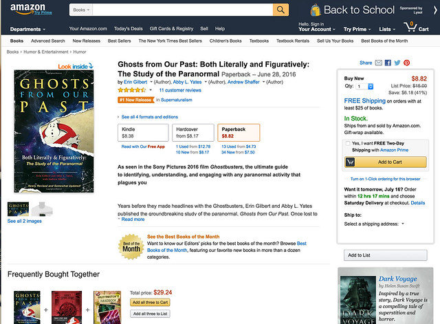 Ghost from our past Book Amazon